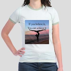 GYMNAST INSPIRATION Jr. Ringer T-Shirt