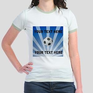 Personalized Soccer Jr. Ringer T-Shirt