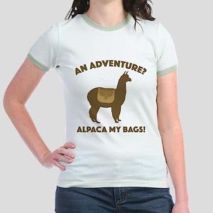 Alpaca My Bags Jr. Ringer T-Shirt