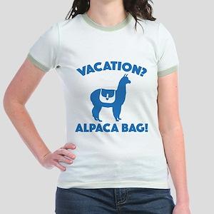 Vacation? Alpaca Bag! Jr. Ringer T-Shirt