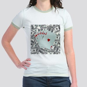 Royal Flush Hearts T-Shirt