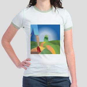 glitter yellow brick road T-Shirt