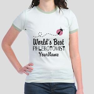 World's Best Phlebotomist Jr. Ringer T-Shirt