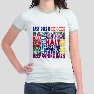 AA 12-Step Slogans T-Shirt