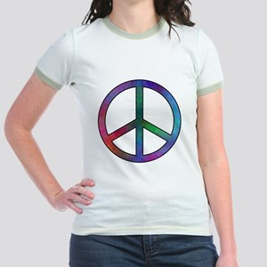 Multicolor Peace Sign T-Shirt