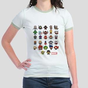 Marvel Kawaii Heroes Jr. Ringer T-Shirt