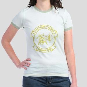 3rd Battalion 1st Marines Front Jr. Ringer T-Shirt