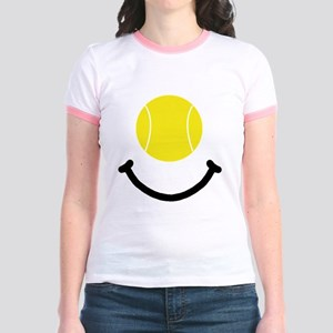 FBC Tennis Smile Black Jr. Ringer T-Shirt