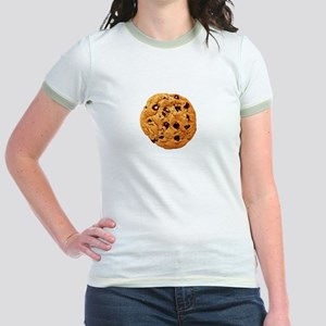 Cookie Inspector White SOT Jr. Ringer T-Shirt