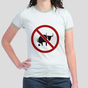 NoSign-Bull Jr. Ringer T-Shirt