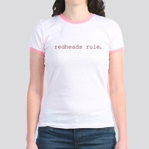 redheads rule Jr. Ringer T-Shirt