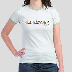 Dog Addict Jr. Ringer T-Shirt