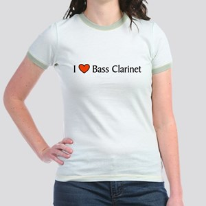 Bass Clarinet Gift Jr. Ringer T-Shirt