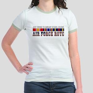 Earn My School Colors Jr. Ringer T-Shirt