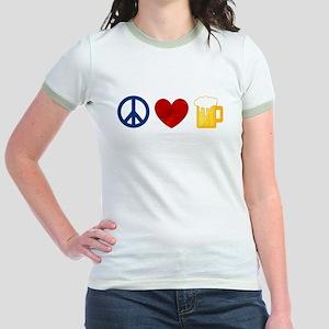 Peace Love Beer T-Shirt