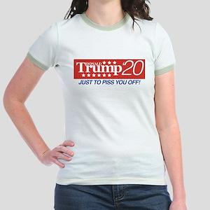 Donald Trump '20 Jr. Ringer T-Shirt