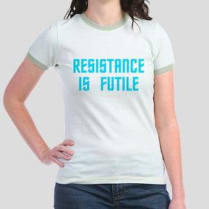 Resistance is Futile Jr. Ringer T-Shirt