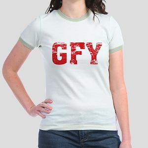 GFY Jr. Ringer T-Shirt