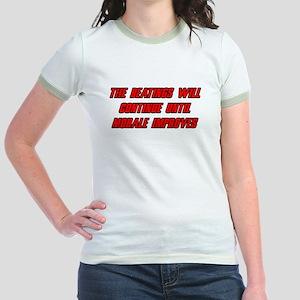 Morale Beatings Jr. Ringer T-Shirt
