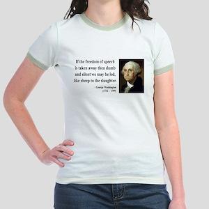 George Washington 3 Jr. Ringer T-Shirt
