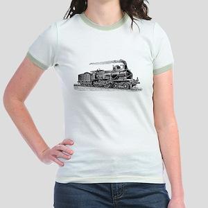 VINTAGE TRAINS Jr. Ringer T-Shirt