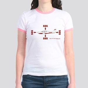 How Planes Fly Jr. Ringer T-Shirt