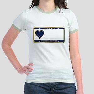 Alaska State License Plate T-Shirt