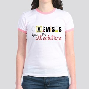 All The Solutions Jr. Ringer T-Shirt