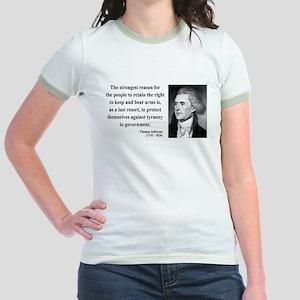 Thomas Jefferson 7 Jr. Ringer T-Shirt