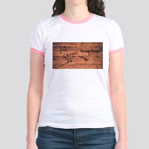 Alaska Map Brand T-Shirt