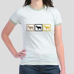 Goat Squares Jr. Ringer T-Shirt