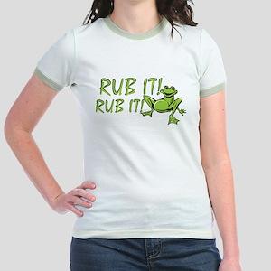 Rub it Frog Jr. Ringer T-Shirt