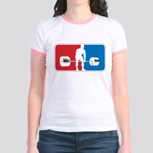 American POWERLIFTING Jr. Ringer T-Shirt