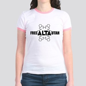 Free Alta Utah Jr. Ringer T-Shirt
