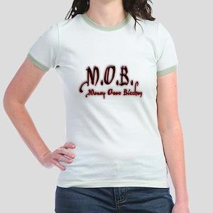 M.O.B. - RED Jr. Ringer T-Shirt