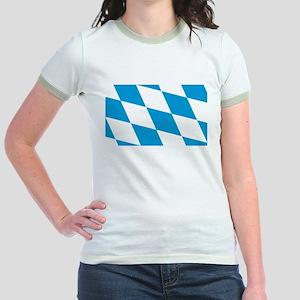 Flag of Bavaria Jr. Ringer T-Shirt