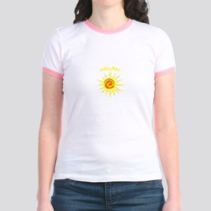 Milan, Italy Jr. Ringer T-Shirt