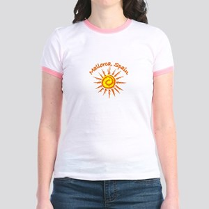 Mallorca, Spain Jr. Ringer T-Shirt