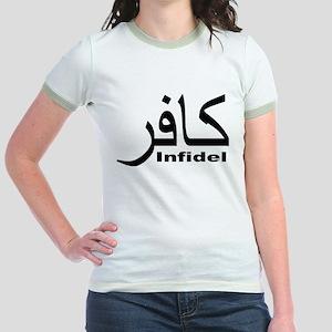 Infidel (1) Jr. Ringer T-Shirt