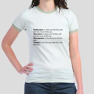 Car handling terms Jr. Ringer T-Shirt