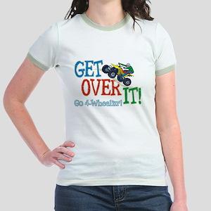 Get Over It - 4 Wheeling Jr. Ringer T-Shirt