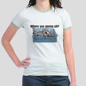 NMrl Where RU Jr. Ringer T-Shirt