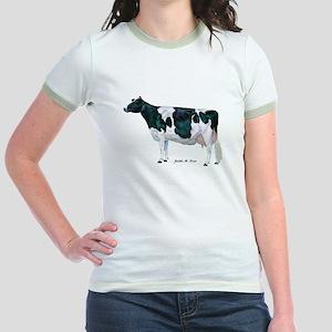 Holstein Cow Jr. Ringer T-Shirt