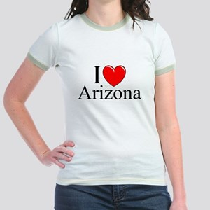 """I Love Arizona"" Jr. Ringer T-Shirt"