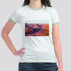 Grand Canyon Landscape Photo Jr. Ringer T-Shirt