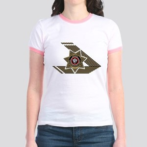 Sheriff San Bernardino Jr. Ringer T-Shirt