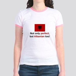 Perfect Albanian Jr. Ringer T-Shirt