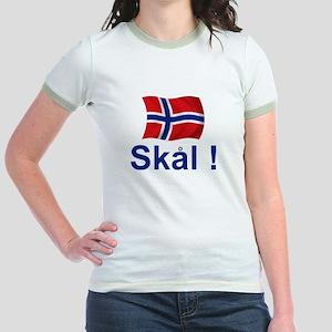 Norwegian Skal! Jr. Ringer T-Shirt