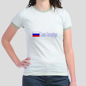 St. Petersuburg, Russia Jr. Ringer T-Shirt
