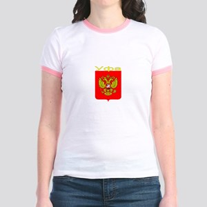 Ufa, Russia Jr. Ringer T-Shirt
